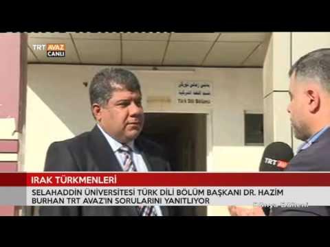 Irak Türkmenleri'nin Mevcut Durumunu Hazim Burhan Değerlendiriyor - Dünya Bülteni - TRT Avaz