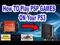 How To Play PSP Games On PS3 (CFW+HEN) work in 2019 - MiTube