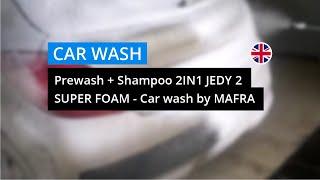 Prewash + Shampoo 2in1 - Jedy 2 Super Foam