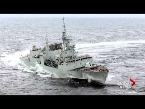 Russia Flexes Muscles Over Canadian Navy