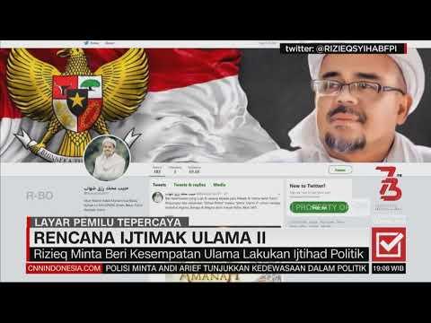 Prabowo Pilih Sandiaga Sebagai Cawapres , Rencana Ijtimak Ulama Jilid II