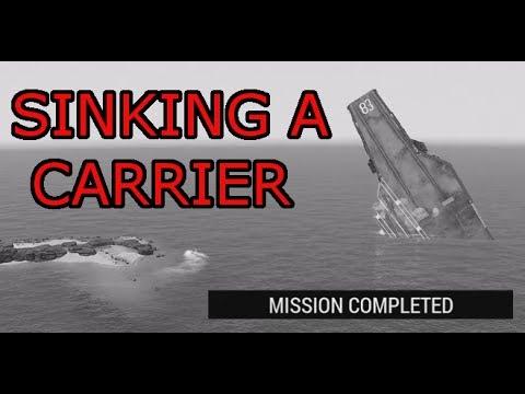 Taking down a CSAT Carrier: OP Dark Steed (Arma 3 Vanilla ops)