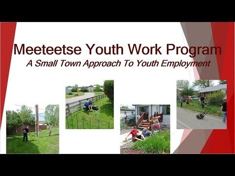 2015 Meeteetse Youth Work Program