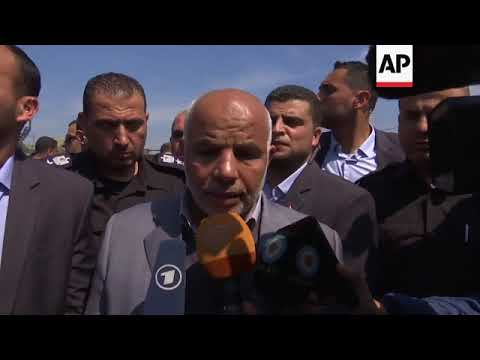 Aftermath of attack on Palestinian PM's convoy in Gaza
