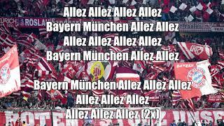 FC Bayern Fan Songs | Südkurve München chants Part 4