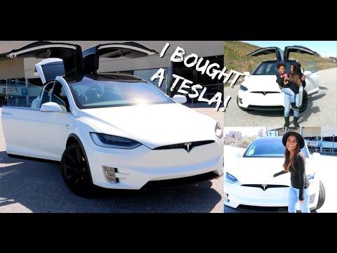 I Bought My First Car!...Tesla Model X | Ellarie