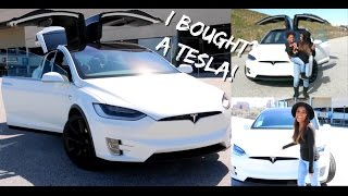I Bought My First Car!...Tesla Model X | Ellarie