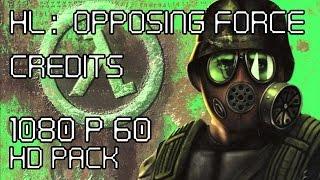 Half-Life: Opposing Force - Credits - Gameplay/Walkthrough