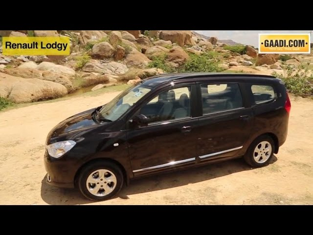 Renault Lodgy Price (November Offers!) - Images, Review & Specs