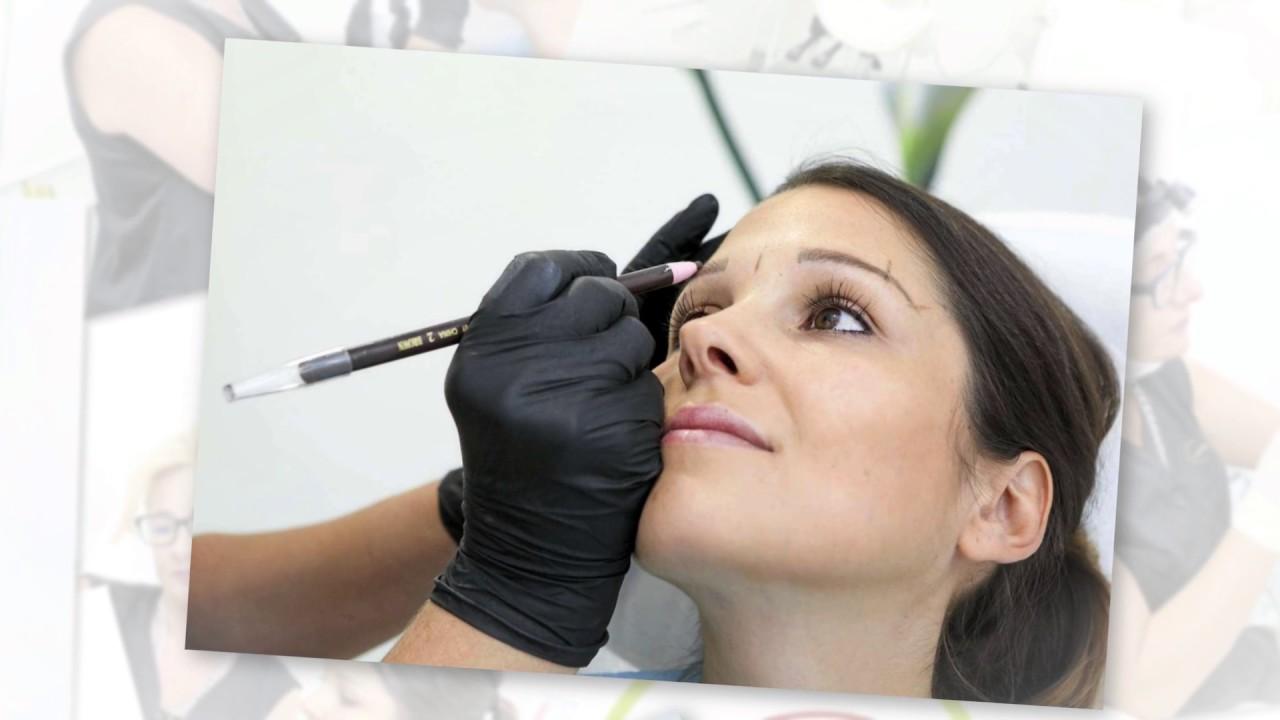 Permanenter Eyeliner vor und nach dem Abnehmen