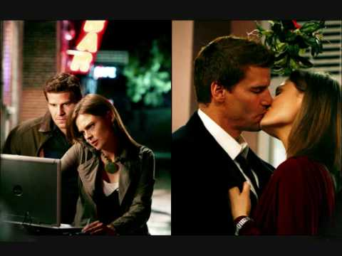 Bones: Booth+Bones (with kiss)