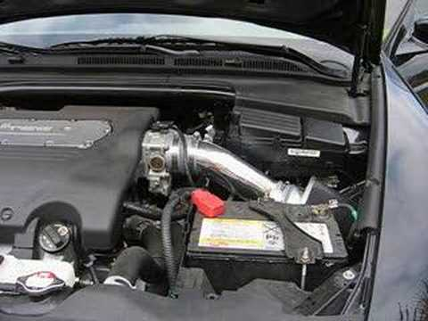 Acura TL WeaponR Secret Weapon Intake YouTube - Acura tl cold air intake