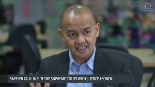 Supreme Court improves whenever Carpio is acting Chief Justice – Leonen