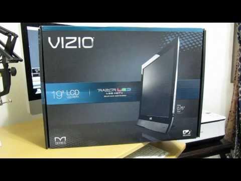 "VIZIO 19"" LCD HDTV Unboxing"