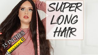 HOW I GREW OUT MY LONG HAIR + STYLING TIPS