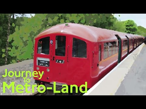 Journey to Metro-Land (A60 Stock and 1938 Tube Stock) May 19th 2013