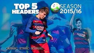 FCB Academy Best goals 2015/16: TOP 5 HEADERS