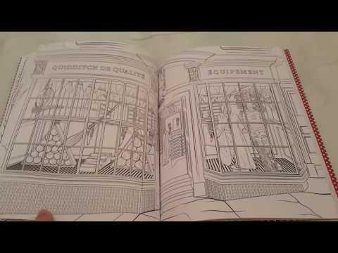 harry-potter:-lieux-&-personnages-magiques:-livre-de-coloriage.tome-3
