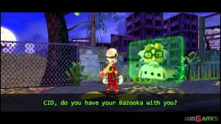 CID The Dummy - Gameplay PSP HD 720P (Playstation Portable)