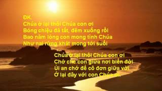 Chúa ở lại thôi, Trần Anh Linh