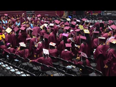 NCCU Graduation December 8th, 2018