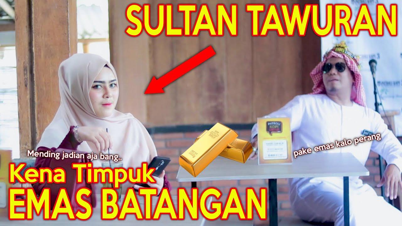 Download PRANK SHOLAWAT SULTAN TAWURAN !! KENA TIMPUK EMAS BATANGAN