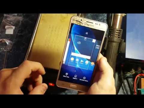 Замена Стекла LCD Samsung Galaxy j5 2016 J510