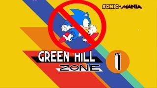 Sonic Mania: No Running Challenge