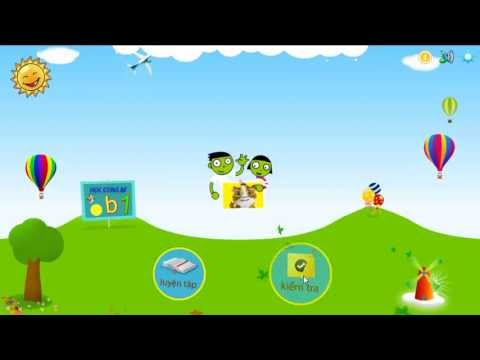 Phần mềm hỗ trợ học tập cho trẻ mầm non