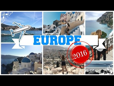 Travel Europe 2016 ~ 4 months in 10 minuets!