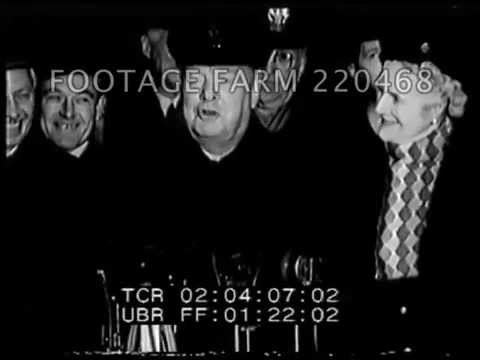 Winston and Clementine Churchill Vacation in the USA 220468-55   Footage Farm