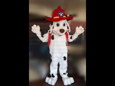 PAW PATROL MASCOT COSTUMES RENTALS ADULT SIZE CHASE RUBBLE MARSHALL RYDER