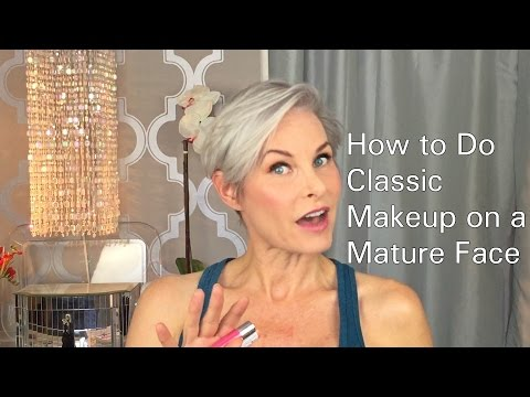 How to Do Classic Makeup on a Mature Face