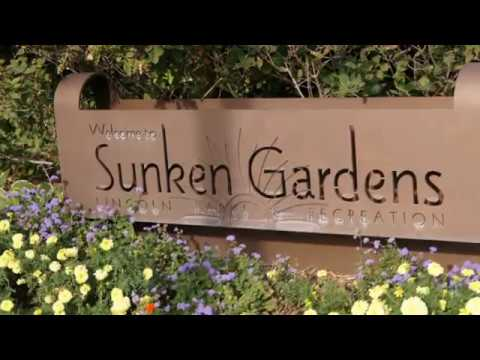 Visiting Sunken Gardens, Garden in Lincoln, Nebraska, United