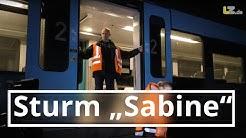 """Sturmtief """"Sabine"""" legt Eurobahn zwischen Lage und Detmold lahm"""