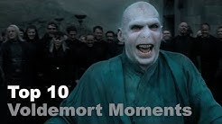 Top 10 - Voldemort Moments