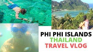 KOH PHI PHI Islands Travel Video + Explore Vlog / Swimming ( Off Phuket & Krabi / Ao Nang Thailand )