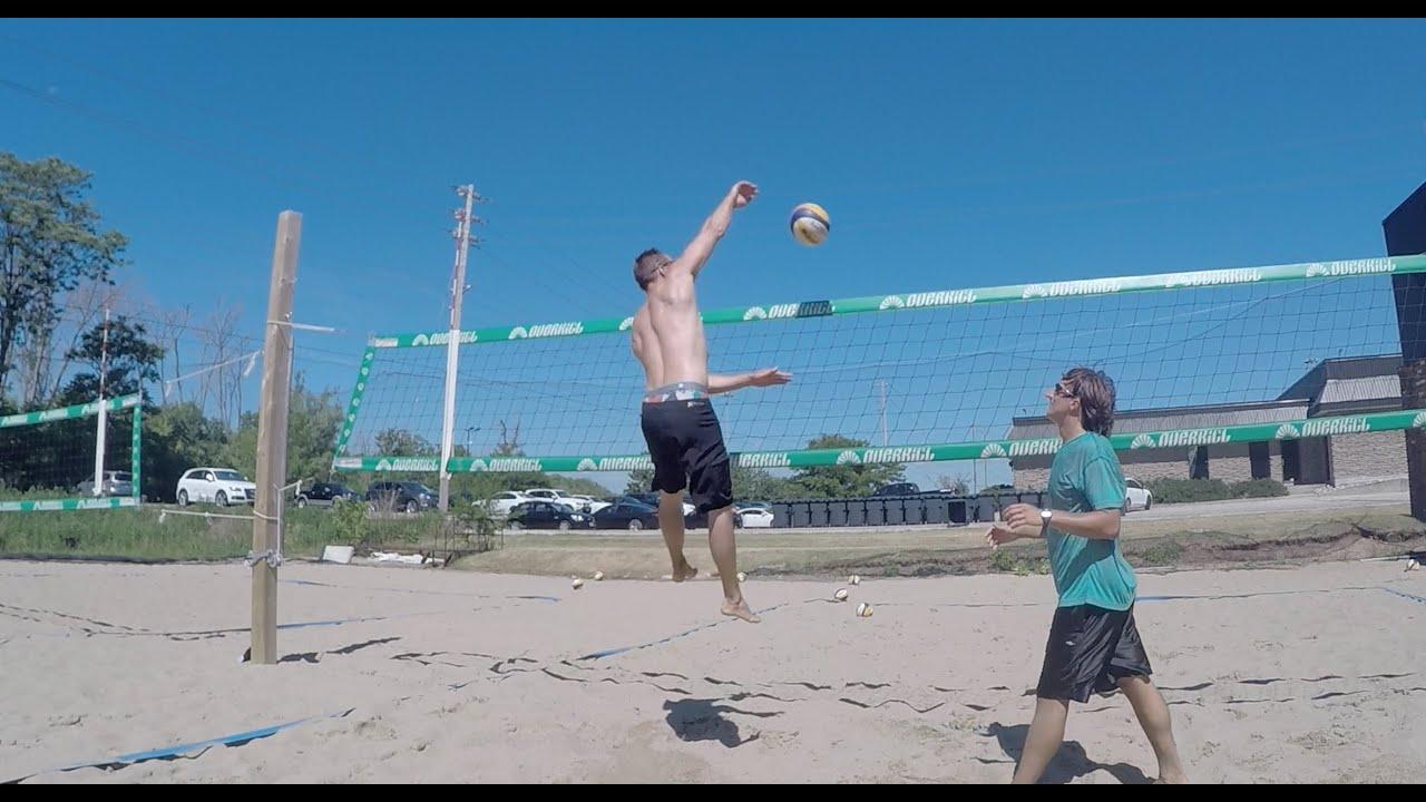 Beach volleyball knee injuries | volleyball training videos.