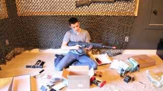 Kwa Sr12 Km16 Airsoft Gun Unboxing From Ebay - Evike Unboxing