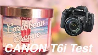 Canon EOS Rebel T6i - Video Test | SoleilTech
