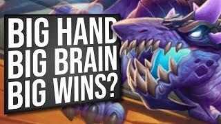 BIG Handlock! Many Cards = Many Wins? | Standard | Hearthstone