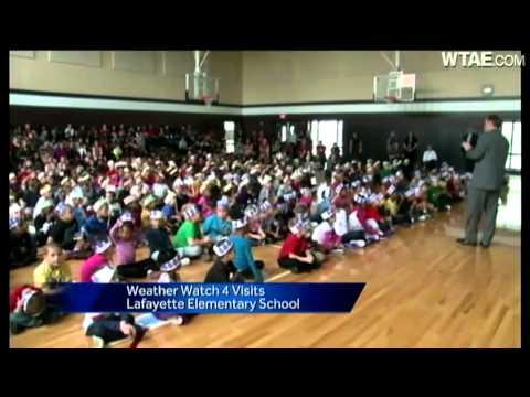 Weather Watch 4 School Visit: Lafayette Elementary School