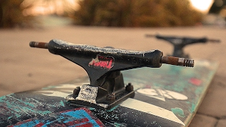 WORST TRUCKS AT THE PARK | OLLIE INTO BIG BOWL