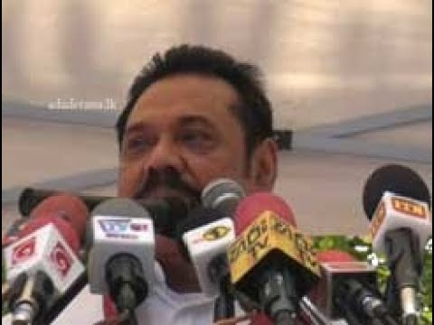 The public is not plagued by debt but by fraud - Mahinda (English)
