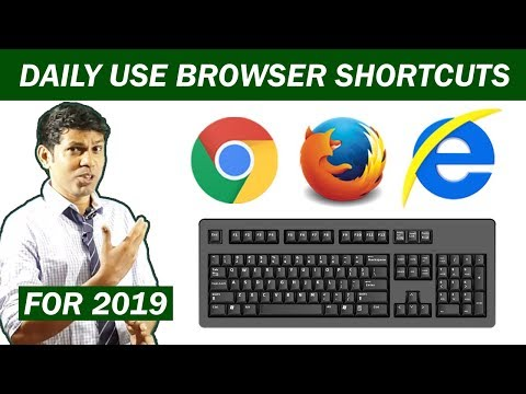 Chrome Shortcuts || Google Chrome Keyboard Shortcuts || Incognito Mode In Chrome