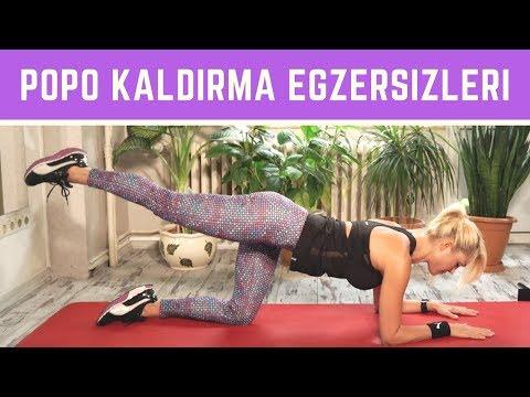 POPO KALDIRMA VE KALÇA ŞEKİLLENDİRME EGZERSİZLERİ
