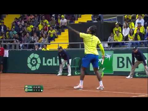 Highlights: Colombia 4-0 Sweden | Davis Cup Qualifiers 2019 Mp3