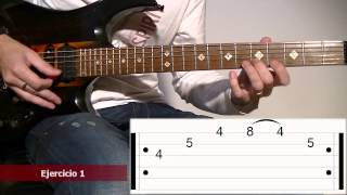 Yngwie Malmsteen Sweep Picking Style: Guitar Tab Lesson #2 TCDG