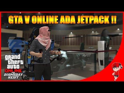 GTA V ONLINE DOOMSDAY (1) - ABIS $50.000.000++ Beli Mobil Terbang & Jet Pack !! !!