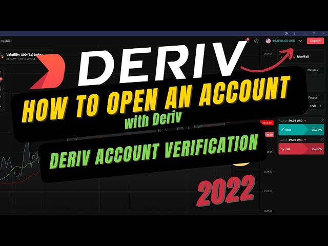 How to open an account with Deriv | Deriv account verification